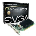 PLACA DE VÍDEO PCIEXP 1GB 64-BIT DDR3 GT210 01G-P3-1313-KR - EVGA