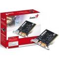 PLACA DE SOM PCI 5.1 6 CANAIS SOUND MAKER VALUE 31720009100 - GENIUS