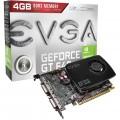 PLACA DE VÍDEO PCIEXO3.0 16X GEFORCE GT640 4GB DDR3 DVI MINI HDMI 04G-P4-2647-KR - EVGA