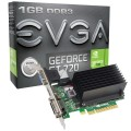 PLACA DE VIDEO PCIEXP2.0 GEFORCE GT 720 1GB DDR3 64 BITS 01G-P3-2722-KR - EVGA