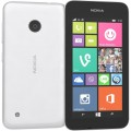 SMARTPHONE LUMIA 530 QUAD CORE WINDOWS PHONE 8.1 4GB CÂMERA 5MP 3G DUAL CHIP DESBLOQ BRANCO - NOKIA