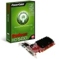 PLACA DE VÍDEO PCIEXP 64 BITS 1GB DDR3 RADEON HD5450 1GBK3-SHEV3 - POWERCOLOR