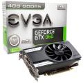 PLACA DE VÍDEO PCIEXP3.0 GEFORCE GTX960 4GB DDR5 128-BITS 04G-P4-1961-KR - EVGA
