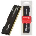 MEMÓRIA 16GB DDR4 2133MHZ CL14 HYPERX FURY BLACK SERIES HX421C14FB/16 - KINGSTON