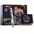 PLACA DE VÍDEO VGA GT210 1GB DDR2 64BITS PCI EXPRESS 2.1 KIT LP DVI-HDMI-VGA PGF2106401D2LP - PCYES