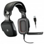 FONE DE OUVIDO HEADSET GAMING USB SURROUND 7.1 PRETO G35 - LOGITECH