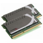 MEMÓRIA PARA NOTEBOOK 4GB (2X2GB) DDR3 1600MHZ HYPERX KHX1600C9S3P1K2/4G - KINGSTON
