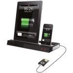 DOCK MÚLTIPLA PARA IPHONE E IPAD 20W RMS BRANCO/PRETO 3051 - LEADERSHIP