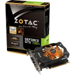 PLACA DE VÍDEO PCIEXP GEFORCE GTX750TI 2GB DDR5 128-BITS ZT-70601-10M - ZOTAC