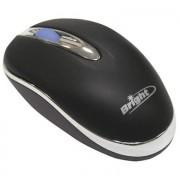 MOUSE MINI ÓPTICO USB PRETO 0028 - BRIGHT