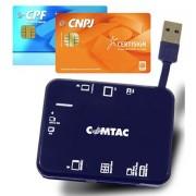 LEITOR CERTIFICADO DIGITAL EXTERNO USB 9166 - COMTAC