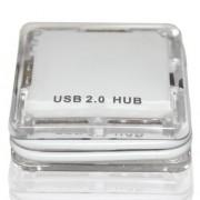HUB MINI USB CRISTAL 4 PORTAS 9161 - COMTAC