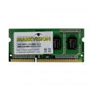 MEMÓRIA PARA NOTEBOOK 2GB DDR3 1333 - MARKVISION