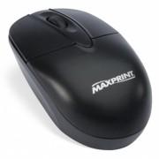 MOUSE ÓPTICO USB PRETO 60607-1 - MAXPRINT