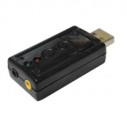 PLACA DE SOM USB 7.1 3D VIRTUAL WF027 - MICROBON