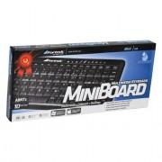 TECLADO MULTIMÍDIA USB MINI 43204 MK201BK - FORTREK