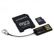 CARTÃO DE MEMÓRIA PARA CÂMERA SD 16GB MICRO COM 1 ADAPT. E PENDRIVE MBLY4G2/16GB - KINGSTON