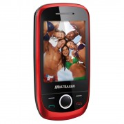 SMARTPHONE 2 CHIPS TOUCH VERMELHO P3161 - MULTILASER