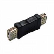 CONECTOR EMENDA USB A(F) X A(F) 210076 - HITTO