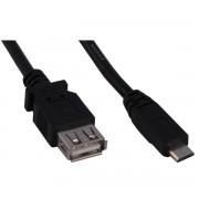 CABO USB OTG A (F) USB BM 1.20MTS 020094 - HITTO