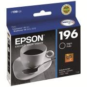 CARTUCHO EPSON 196 PRETO T196120BR - EPSON