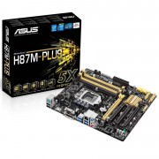 PLACA MÃE 1150 H87M-PLUS DDR3 HDMI USB3.0 (S/V/R) - ASUS