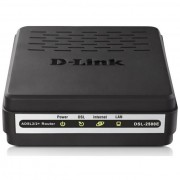 MODEM ADSL2+ 10/100MBPS DSL-2500E PRETO - D-LINK