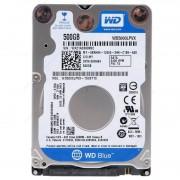 HD PARA NOTEBOOK 500GB SATA III 5400RPM 8MB WD5000LPCX - WESTERN DIGITAL