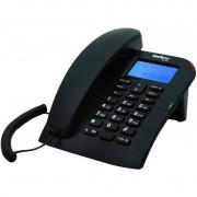 TELEFONE COM FIO C/IDENTIFICADOR DE CHAMADAS TC 60 ID PRETO - INTELBRAS