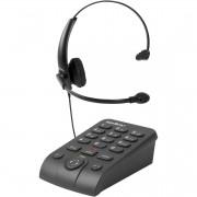 TELEFONE HEADSET HSB50 PRETO - INTELBRAS