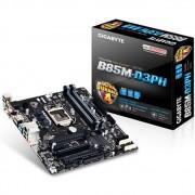 PLACA MÃE 1150 GA-B85M-D3PH DDR3 HDMI E-SATA USB3.0 DVI (S/V/R) - GIGABYTE