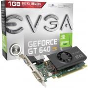 PLACA DE VÍDEO PCIEXP 3.0 GT640 1GB DDR5 64-BITS LOW PROFILE 01G-P3-2642-KR - EVGA