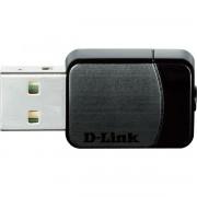 ADAPTADOR DE REDE SEM FIO USB NANO AC750 DUAL-BAND  DWA-171 - D-LINK