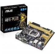 PLACA MÃE 1150 H81I-PLUS DDR3 1600 USB3.0 DVI HDMI (S/V/R) - ASUS
