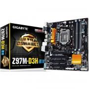 PLACA MÃE 1150 GA-Z97M-D3H DDR3 DVI USB3.0 HDMI (S/V/R) - GIGABYTE