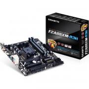 PLACA MÃE FM2+ GA-F2A88XM-D3H DDR3 HDMI USB3.0 REV 3.0 MICRO ATX - GIGABYTE