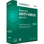 ANTIVIRUS KASPERSKY 2015 PARA 1 PC /1 ANO