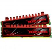 MEMÓRIA 4GB (2X2GB) DDR3 1600MHZ RIPJAWS F3-12800CL9D-4GBRL VERMELHA - G.SKILL