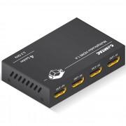 HUB HDMI 4 PORTAS 9286 - COMTAC