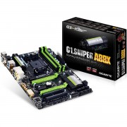 PLACA MÃE AMD FM2+ G1.SNIPER A88X DDR3 HDMI DVI USB3.0 USB DAC-UP (S/V/R) - GIGABYTE
