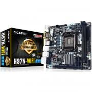 PLACA MÃE 1150 GA-H97N-WIFI DDR3 HDMI USB3.0 DVI WI-FI (S/V/R) - GIGABYTE