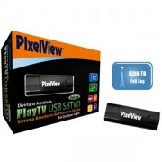 RECEPTOR DE TV DIGITAL USB PLAYTV SBTVD FULL-SEG PV-D231U(RN)-F - PIXELVIEW
