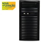 SERVIDOR TORRE INTEL SC-T1200 QUAD CORE XEON 1231V3 HT 3.4GHZ 8GB UDIMM 500GB DVD-RW - CENTRIUM