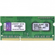 MEMÓRIA PARA NOTEBOOK 4GB DDR3 1333MHZ KVR13S9S8/4 - KINGSTON