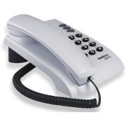 TELEFONE COM FIO COM CHAVE CINZA PLENO - INTELBRAS