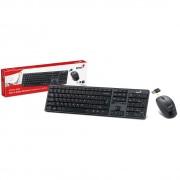 KIT TECLADO E MOUSE USB WIRELESS 2.4 GHZ SLIMSTAR 8000  PRETO - GENIUS