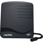 ANTENA INDOOR PARA TV DIGITAL DTV-1000 UFH/HDTV PRETO - AQUÁRIO