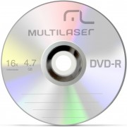 DVD-R 4.7 GB 16X DV060 - MULTILASER