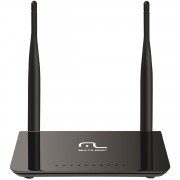 ROTEADOR WIRELESS 300MBPS DUAL BAND C/ 2 ANTENAS 5DBI RE075 - MULTILASER