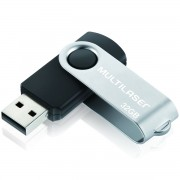 PEN DRIVE 32GB USB PRETO PD589 - MULTILASER